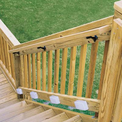 deck railings decking the home depot