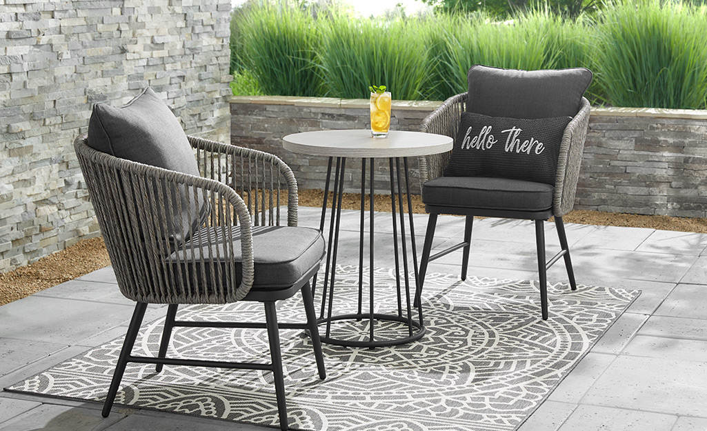 Small Patio Ideas - The Home Depot on Home Depot Patio Ideas id=80327