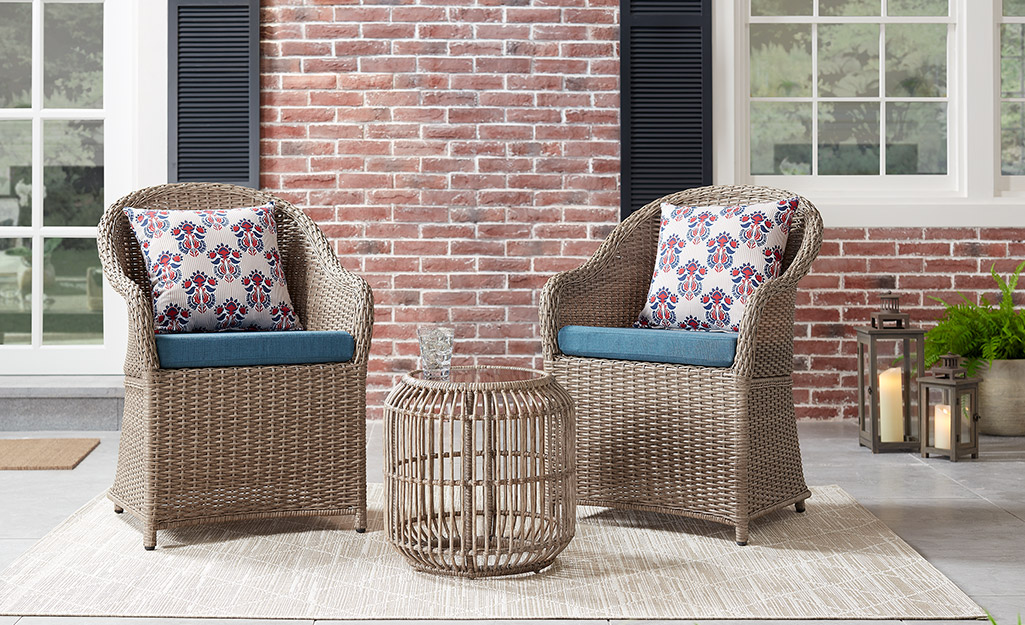 Small Patio Ideas - The Home Depot on Home Depot Patio Ideas id=41912