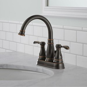 Bathroom Faucets for Your Sink  Shower Head and Bathtub   The Home Depot Centerset Sink Faucets