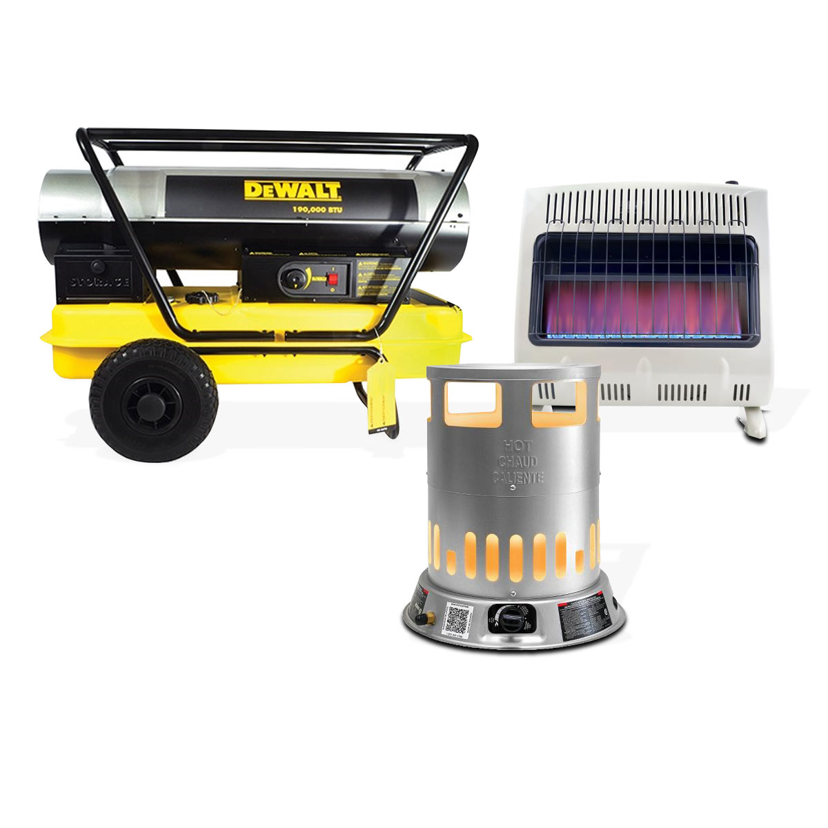 Non Vented Natural Gas Garage Heaters