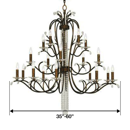 Large Size Chandeliers