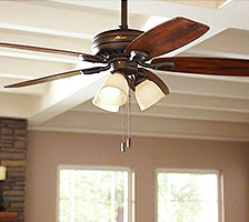 Bedroom Lighting   Lamps   Living Room Lighting at the Home Depot Bedroom Ceiling Fans With Lights
