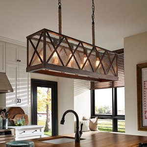 Kitchen Lighting Fixtures   Ideas at the Home Depot Island Lights