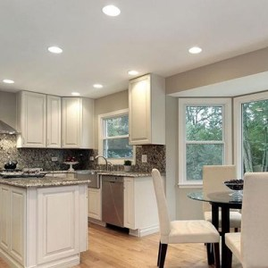 Kitchen Lighting Fixtures   Ideas at the Home Depot Recessed Lighting