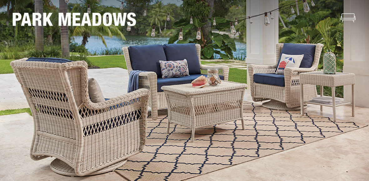 Create Your Own Patio Collection at The Home Depot Park Meadow Collection