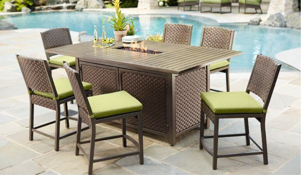 outdoor patio bar sets furniture Outdoor Bar Furniture - The Home Depot