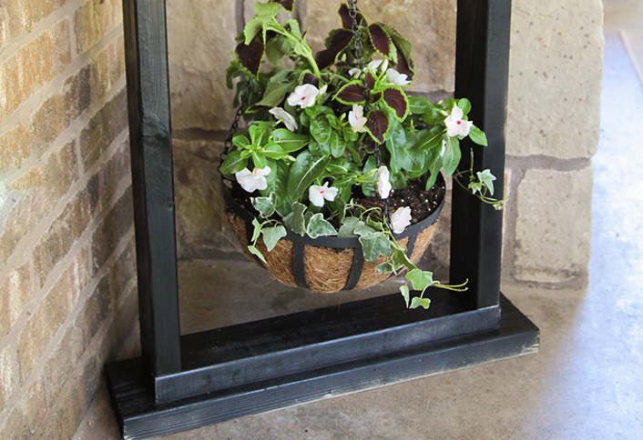 Wooden Hanging Plant Stand at The Home Depot on Plant Stand Hanging  id=52493