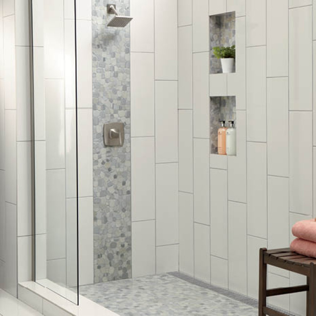 12x24 tile pattern for small bathroom