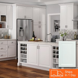Kitchen Cabinets Color Gallery at The Home Depot White Kitchen Cabinets
