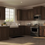 Hampton Wall Kitchen Cabinets In Cognac Kitchen The Home Depot