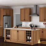 Hampton Medium Oak Coordinating Cabinet Hardware Kitchen