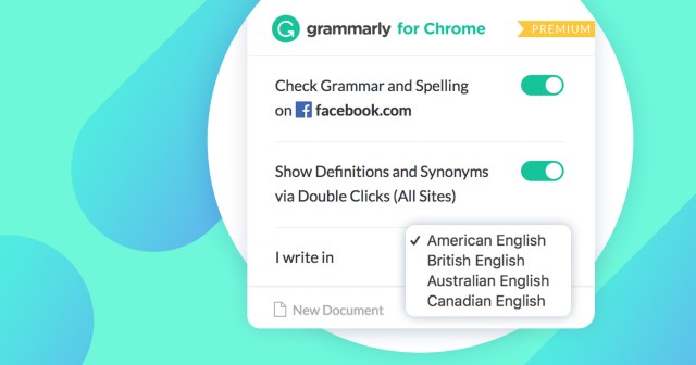 Grammarly Spotlight: How to Select Your English Dialect