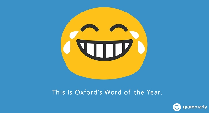 This is Oxford's Word of the Year.