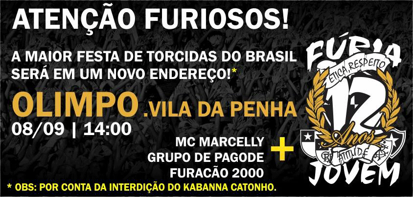 Torcida Fúria Jovem Botafogo