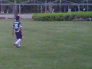 Diego, torcedor do Palmeiras, 9 anos de idade...