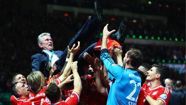 Heynckes conquistou tudo com o Bayern de Munique na última temporada