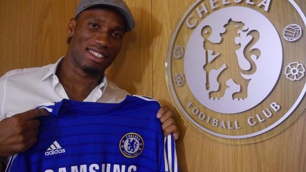 De 2004 a 2012, Drogba foi um dos grandes nomes do futebol inglês pelo Chelsea