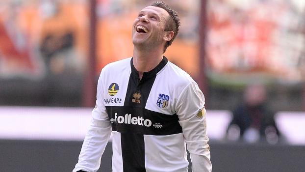 Antonio Cassano reencontrou o bom futebol no Parma e agora sonha com a primeira Copa