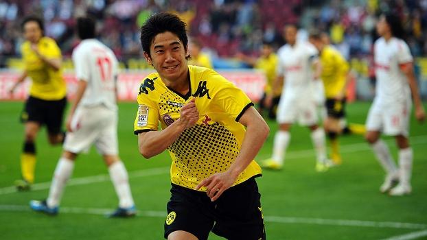 Shinji Kagawa brilhou com a camisa do Borussia Dortmund e estaria de volta ao clube