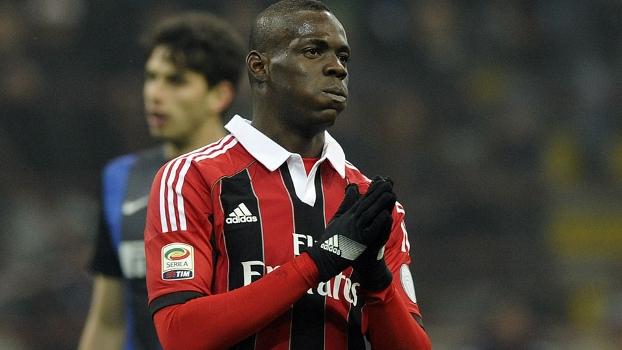 Balotelli passou em branco contra a Inter de Milão