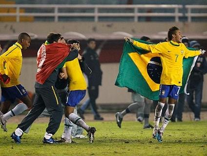 Assista ao massacre brasileiro sobre o Uruguai