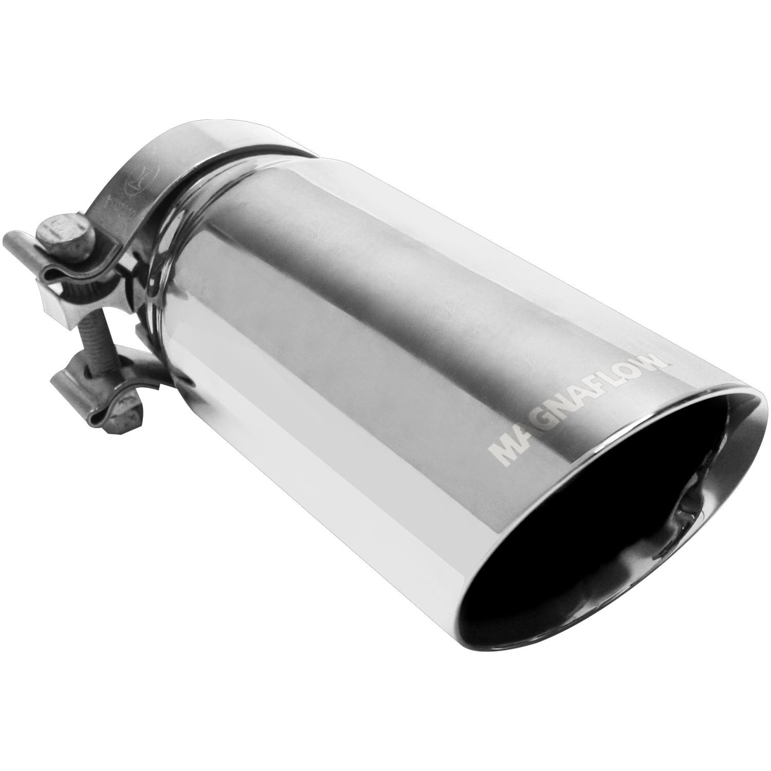 magnaflow exhaust products 35210 3 5in x 9 5in polished exhaust tip