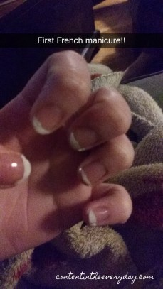 My First French Manicure