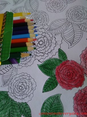 coloring picture_with text