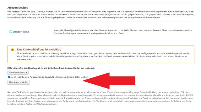 Amazon: So löschen Sie Ihren Account - CHIP