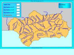 Ríos de Andalucía. ¿Dónde está?