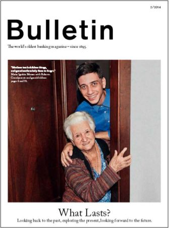 bulletin-gray-haired woman-young man-what lasts