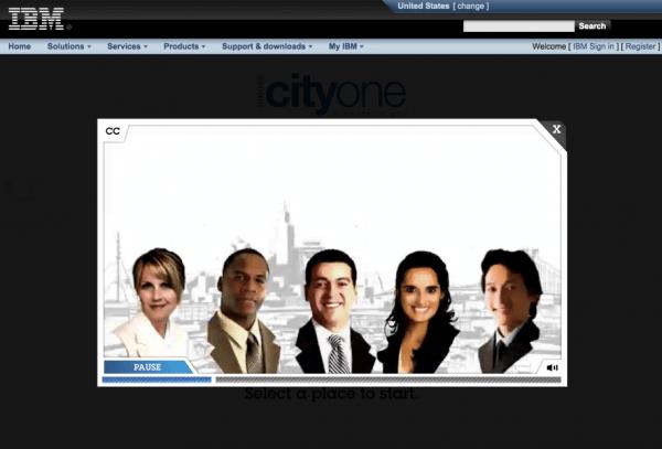 IBM-CityOne Game-example-image 5