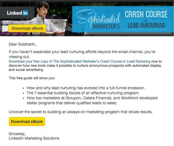 Linkedin-emails