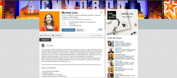 michele-linn-linkedin-profile