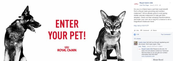 Royal Canin Contest