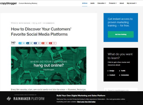 copyblogger-website-example