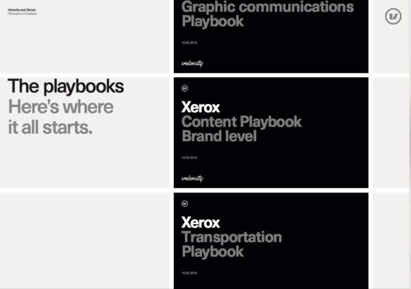 Velocity-playbooks