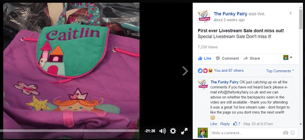 Funky-fairy-livestream-campaign
