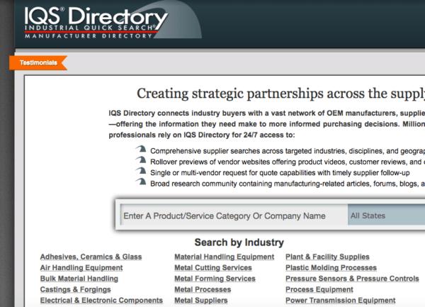 IQS-Directory