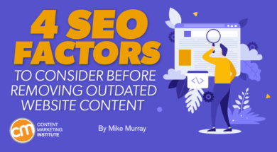 seo factors consider before removing outdated website content Twin Front