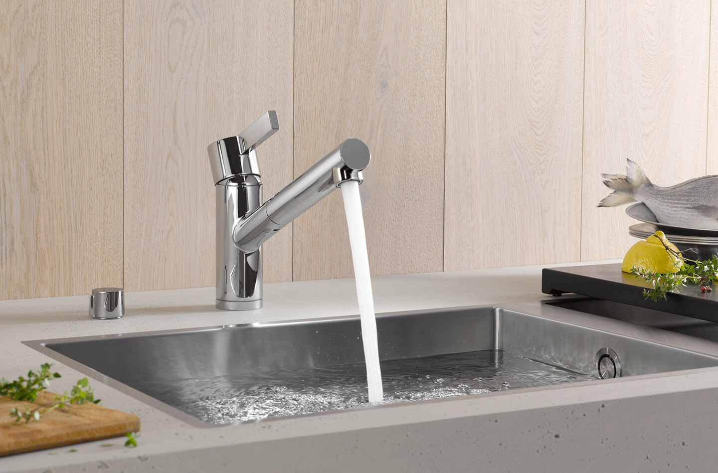 luxury pull out kitchen faucets