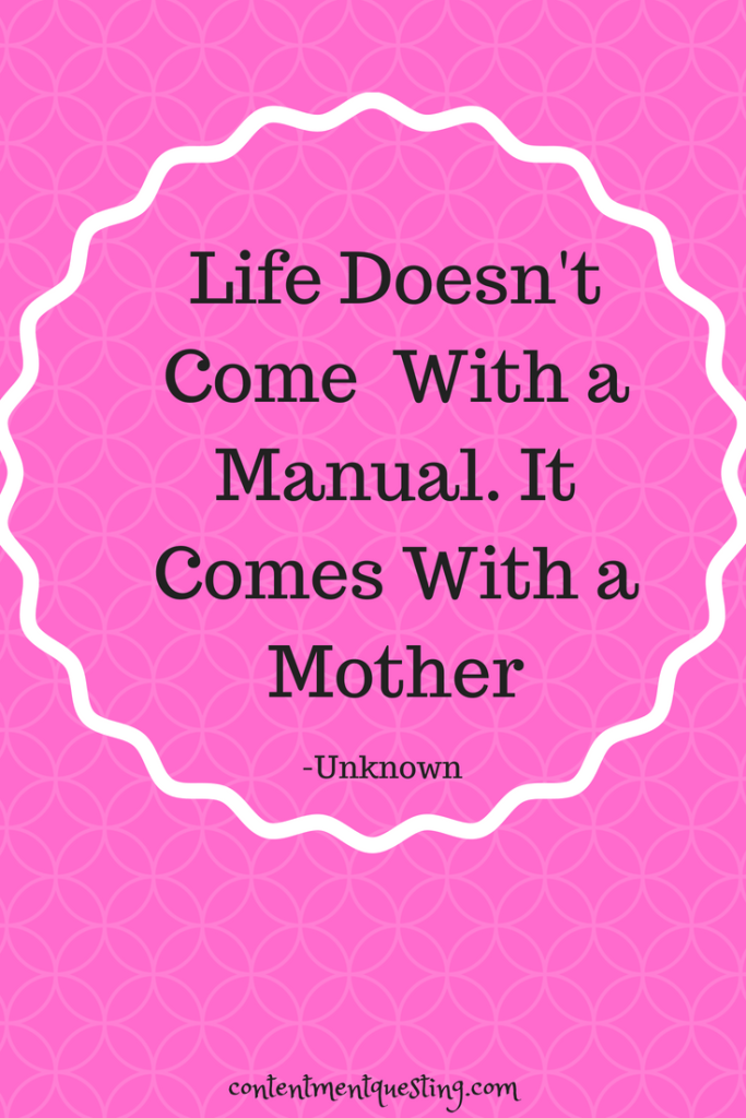 Mother's Day Quote, Life comes with Mother, Humor, Quote, Mother
