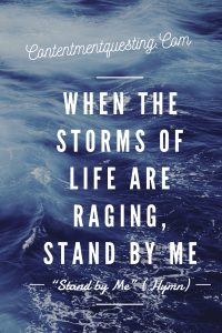 Hymn, encouragement, Storm, God, Help