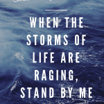 Hymn, encouragement, Storm, God, Help