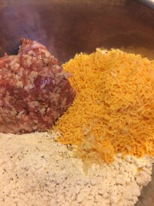 sausage cheese drop biscuits quick easy breakfast start