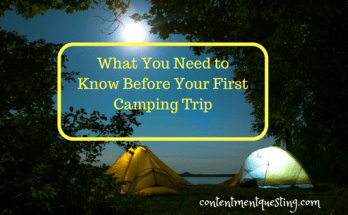 camping 101, first camping trip, know before you go