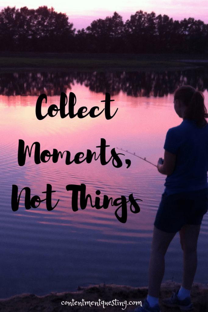 collect moments, inpirational quote, travel, minimalism, camping