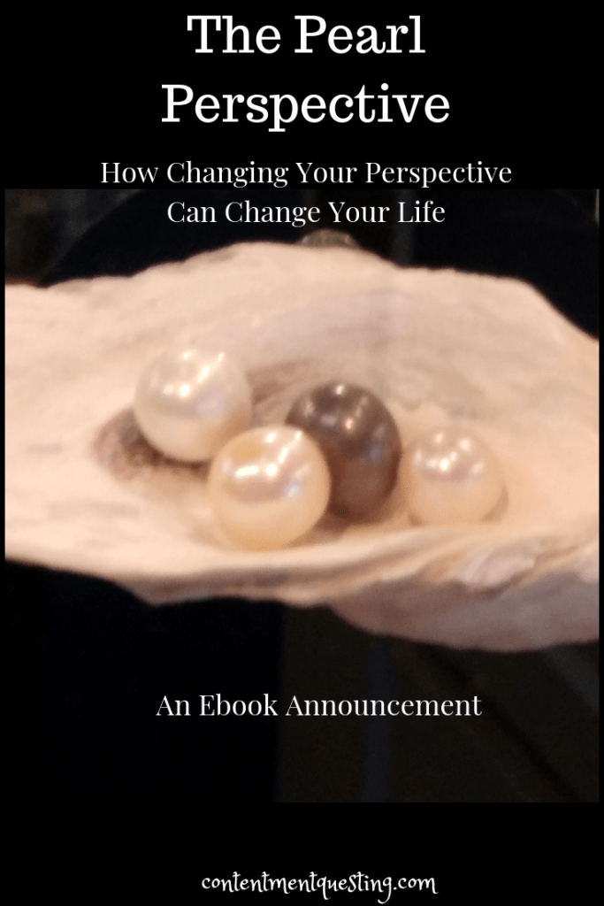 ebook, contentment questing, pearl perspective, inspiration, change your life, self-help, personal development