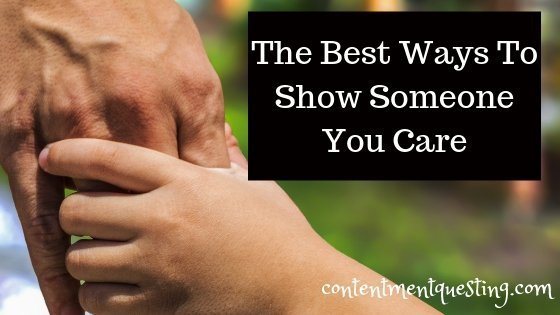 How to tell someone you care about them